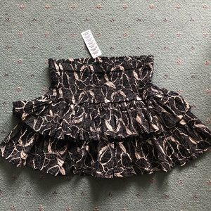 NWT Urban Outfitters Tiered Smocked Skirt